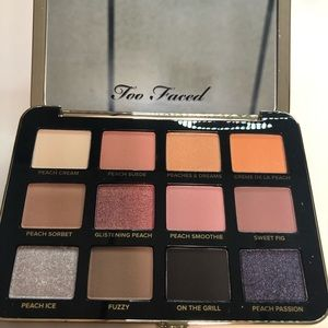 BRAND NEW Too Faced Eyeshadow Palette White Peach
